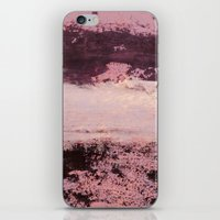 burgundy iPhone & iPod Skins featuring burgundy rose by patternization