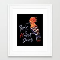 punk Framed Art Prints featuring Punk by Hannah Böving