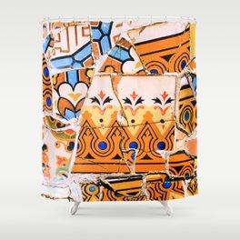 Gaudi Series - Parc Güell No. 4 Shower Curtain