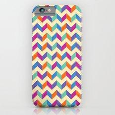 Coloured Chevron iPhone 6s Slim Case