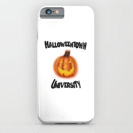 Halloweentown University iPhone Case