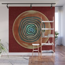 Tribal Maps - Magical Mazes #02 Wall Mural