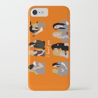 oitnb iPhone & iPod Cases featuring I Heart You OITNB by Vauseman Addict