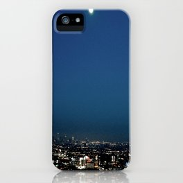 l.a. blur iPhone Case