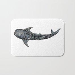 Whale shark Rhincodon typus Bath Mat