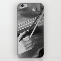 cello iPhone & iPod Skins featuring Cello by QuiXot