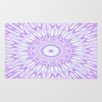 lavender Area & Throw Rugs featuring Lavender. by SimplyChic