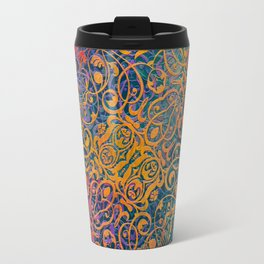 magic mandala 46 #magic #mandala #decor Travel Mug