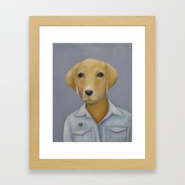 Year of the Dog Framed Art Print