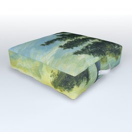 Let It Be by Teresa Thompson Outdoor Floor Cushion