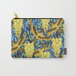 Flowers and Swallows by Maurice Pillard Verneuil Carry-All Pouch