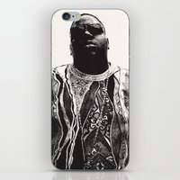 notorious iPhone & iPod Skins featuring Notorious by Ricca Design Co.