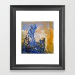 Steel Bridge Framed Art Print
