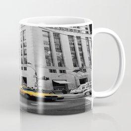 yellow taxi Coffee Mug