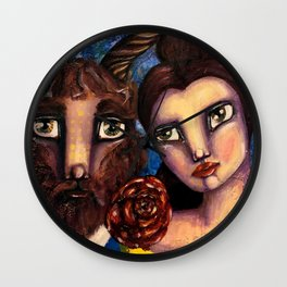 Beauty & the Beast Wall Clock