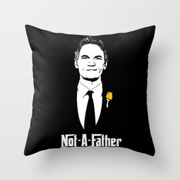 Not-A-Father Throw Pillow