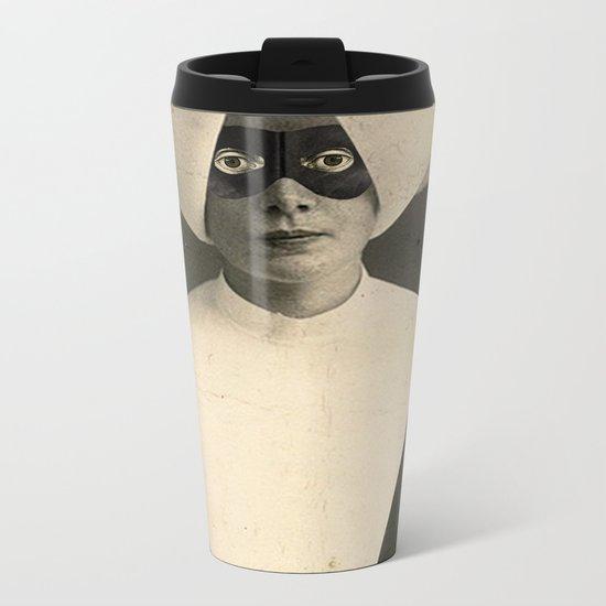 SARCHOTIC:  ANOTHER CHEAP TRICK Metal Travel Mug
