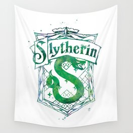 Slytherin Crest Wall Tapestry