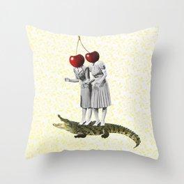 Kirsch girls Throw Pillow