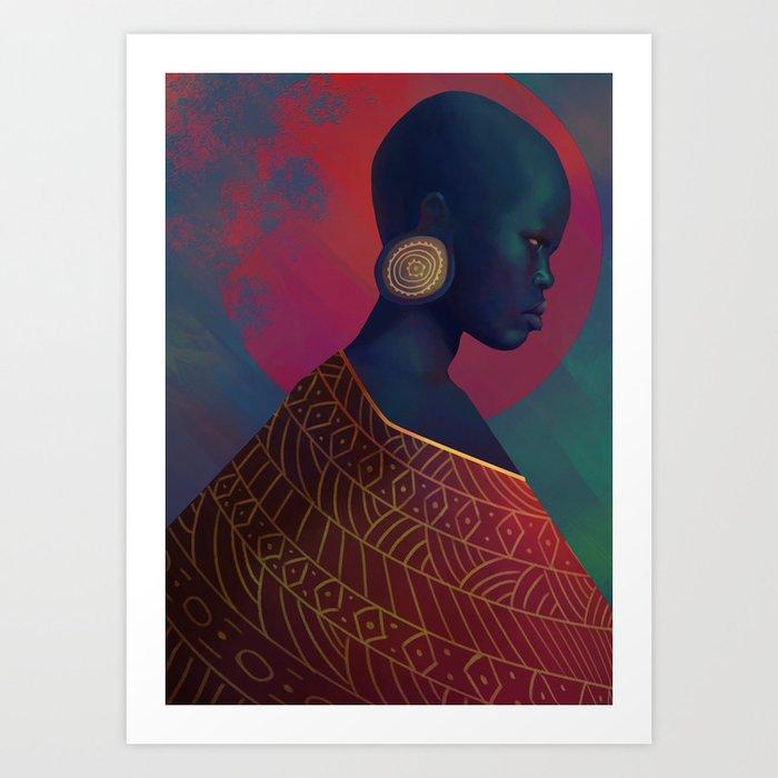 Yahima Art Print