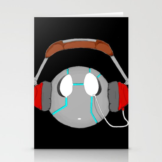 I aM MusIC Stationery Cards