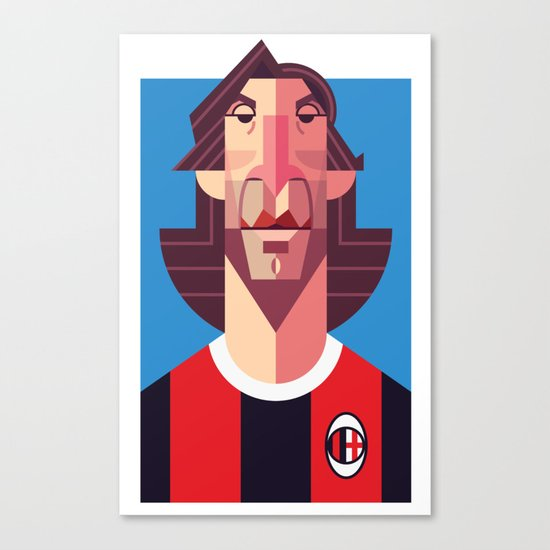 AP21 | Rossoneri Canvas Print