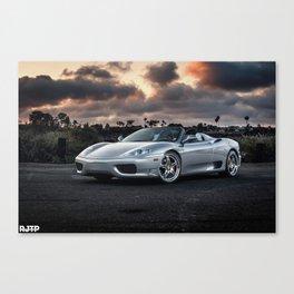 F360 Canvas Print