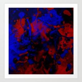 Yin Yang Heaven & Hell Art Print