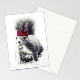 Squirrel & Bow Stationery Cards