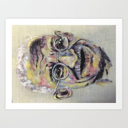 Ghandi Art Print