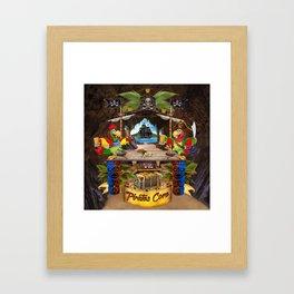 Pirates Cove Framed Art Print