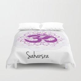Saharsra Chakra Duvet Cover