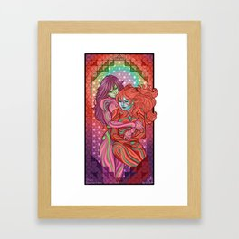 Evangelion - Mari and Asuka  Framed Art Print