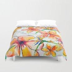 Beautiful tropical things Duvet Cover