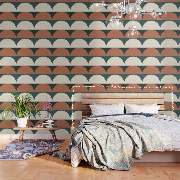 Abstract Geometric 01E Wallpaper