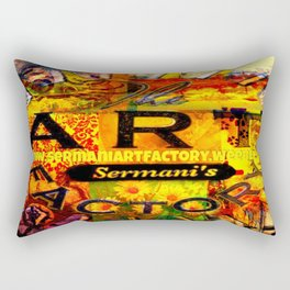 Sermani's Art Factory Rectangular Pillow