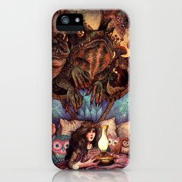 The Owl Princess And Her Night Terrors iPhone Case