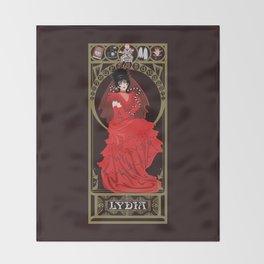 Lydia Nouveau - Beetlejuice Throw Blanket