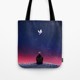 Slow Ascent Tote Bag
