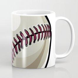 Cartoon Baseball Clipart Coffee Mug