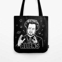Aliens Guy (Giorgio Tsoukalos) Tote Bag