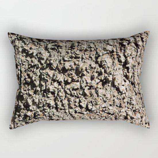 TEXTURES -- Western Sycamore Bark Rectangular Pillow