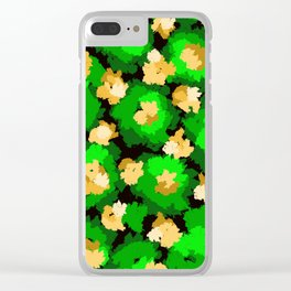 The colorful Book of Enchanted Garden. Clear iPhone Case