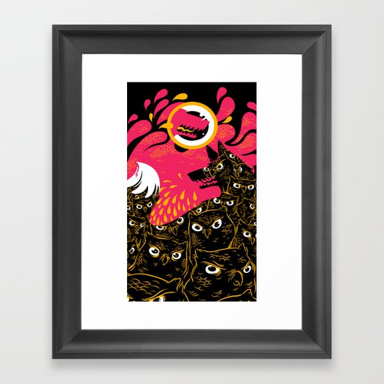 Sanguine Parliament Framed Art Print