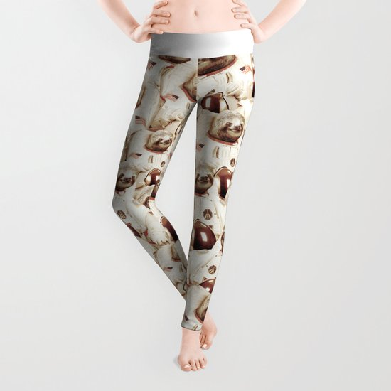 Sloth Astronaut Leggings