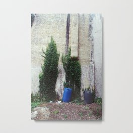 vines, trash Metal Print