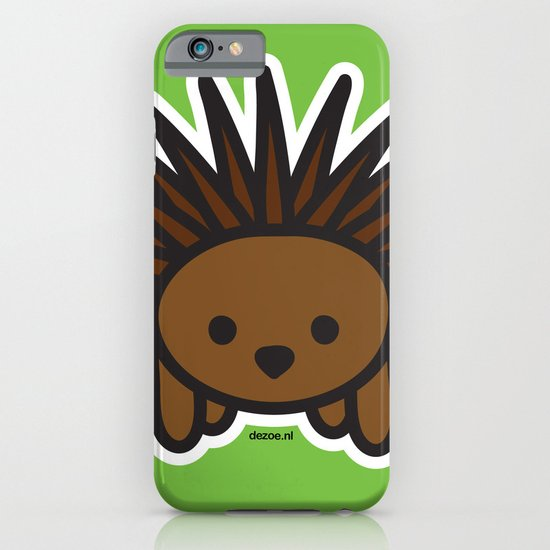 Cute Hedgehog iPhone & iPod Case