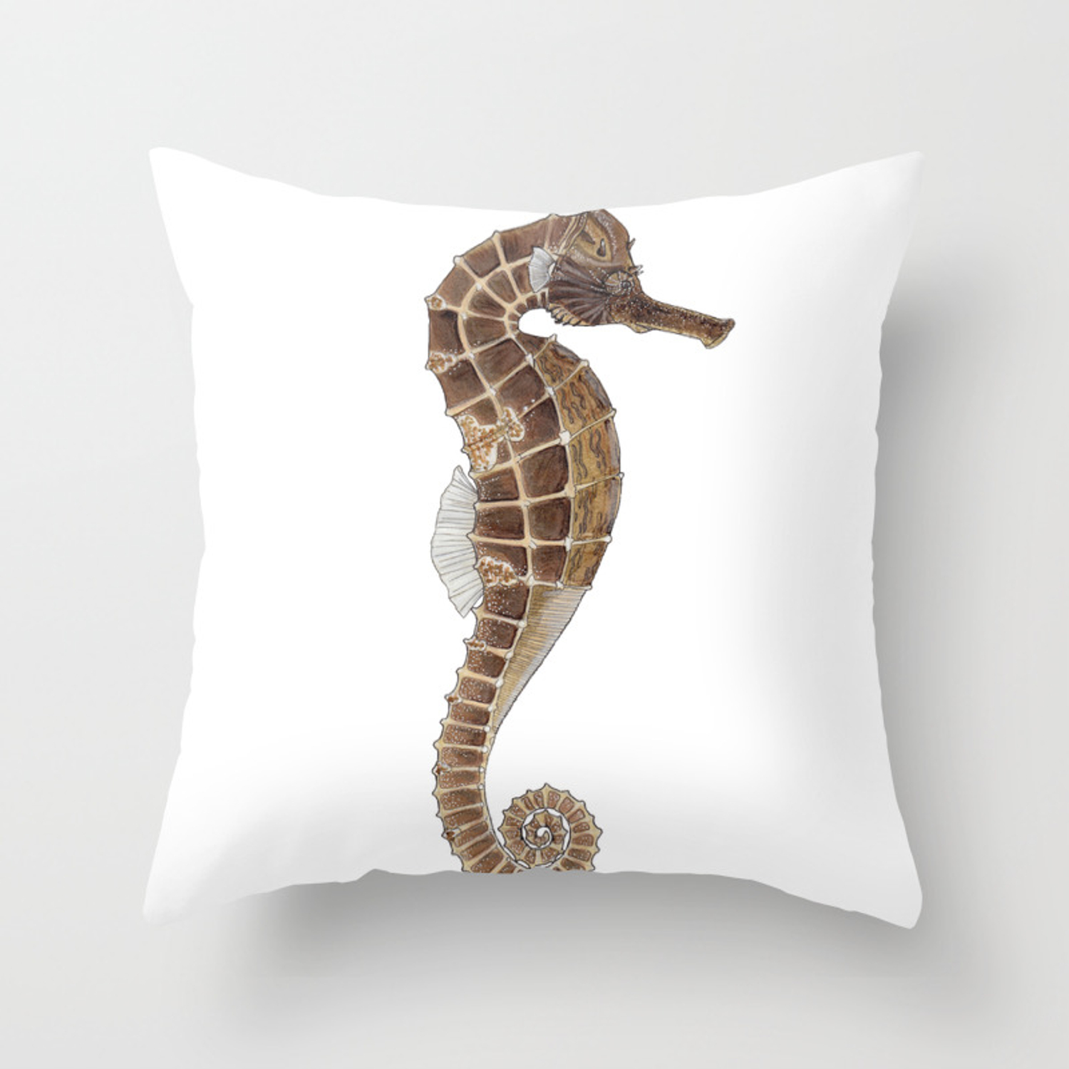 Seahorse Throw Pillow By Britneydrumheller Society6