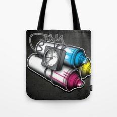Graffiti Bombing Tote Bag
