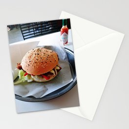 The Classic Burger Stationery Cards